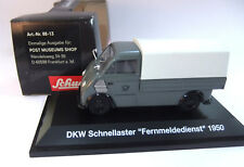 Schuco DKW Schnellaster Fernmeldedienst -1950- Schuco  1:43 OVP  #1877