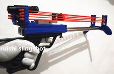 Reverse song Catapult Rifle mini new slingshot Warrior double pull DIY Smurfs