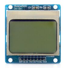"Arduino Compatible 1.6"" Nokia 5110 LCD  Raspberry Pi 2 Blue Backlight CHIP 95 B"