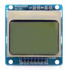 "NOKIA 1.6"" compatibile Arduino 5110 LCD Raspberry Pi 2 Chip Retroilluminazione Blu 95 B"