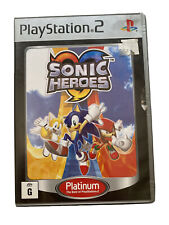 Sonic Heroes Ps2 PlayStation 2 Game Platinum Free Post