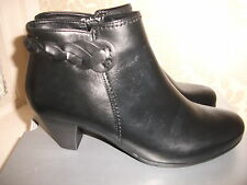 Gabor Patternless 100% Leather Boots for Women