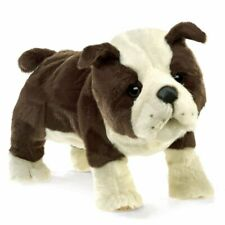 Folkmanis High Quality Domestic Animal Puppets (English Bulldog Puppy)