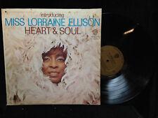 Miss Lorraine Ellison-Heart & Soul-Warner Bros 1674-MONO GREAT