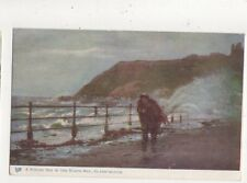 Rough Sea In North Bay Scarborough Vintage Tuck Oilette Postcard 662a
