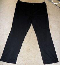 Regatta Woman BNWT Plus Size 24 Black Tapered Leg Pant RRP $ 79,95