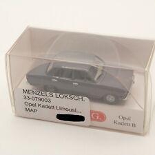 Wiking 1:87 0790 03 / 079003 Opel Kadett B Limousine grau in OVP EK8226