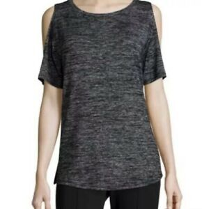 Rag & Bone Women's Size S Cold Shoulder  Short Sleeve Knit Top Tee