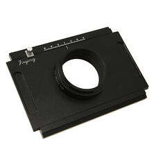 Moveable Adapter Plate for 4 x 5 Large Format Camera Body to Pentax 645D New