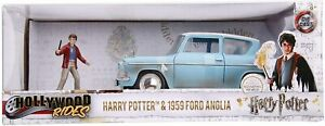 Harry Potter - 1959 Ford Anglia 1:24 Hollywood Ride Diecast Vehicle with figure