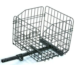 Folding Rear Basket Accessory for Mobility Scooters & Power Chairs XL New Design