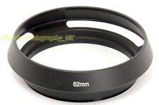 62mm Wide-Angle Lens Hood for E62 Nikon ZOOM Nikkor 28-85mm SIGMA 30mm f/1.4