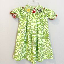 Amanda Remembered Christmas Santa Smock Dress size 2