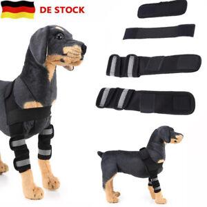Hunde Bandage für das Vorderbein Ellenbogen Gelenkschutz Schulter Bandage S M L