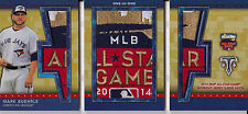 Mark Buehrle 2015 Triple Threads All-Star Jumbo Sleeve Patch 1/1 Relic Booklet