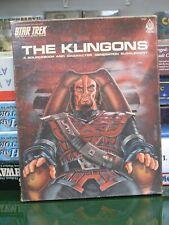 Star Trek RPG The Klingons Supplement Unpunched Unplayed FASA 1983
