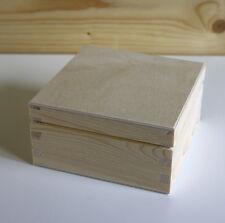 Natural pine box quality box joint corners lovely craftsmanship Set B size Small