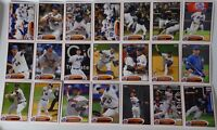 2012 Topps Series 1 & 2 New York Mets Team Set of 21 Baseball Cards