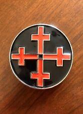 Red Celtic Irish Cross With Bottle Opener Metal Unisex Men's Belt Buckle