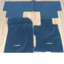 GENUINE OEM SPORT LHD BLACK FLOOR MATS CARPETS FOR CIVIC SEDAN FB 2012-2015
