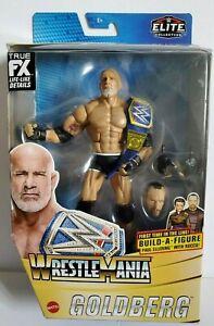 WWE Mattel BILL GOLDBERG Wrestlemania 37 Paul Ellering Build A Figure NEW 2020