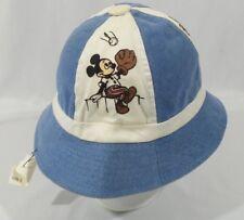 84ffb445e60c3 Vintage 1970s Walt Disney World Productions Bucket Beach Hat Size 7-1 8