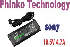 Sony Vaio 90W Genuine Original Adapter Charger for VPCEA43FX/BJ VPCEA43FX/T