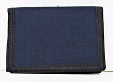 AMAZING-BLUE-TRI-FOLD-CANVAS-WALLET- BUY 3 AND GET 1 FREE.