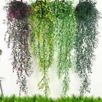 Artifical Fake Flower Ivy Vine Hanging Garland Plant Wedding Home Party Decor ak