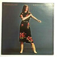 EMMYLOU HARRIS Evangeline - 1981 Country Vinyl Album BSK 3508 VG+/VG