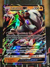 Pokemon Lycanroc GX 74/145SM Guardians Rising Ultra Rare Holo NM