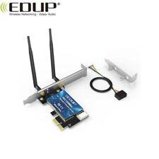 EDUP EP-9620 1200M PCI-E, Dual-Band, WiFi Scheda Espansione 2 in 1 Bluetooth