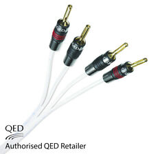 QED Silver Anniversary XT Bi-wire Cable 2+4 AIRLOC Forte Plugs Fitted 1 x 3m