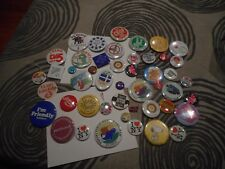 Vintage Lot of 47 Advertising Pins