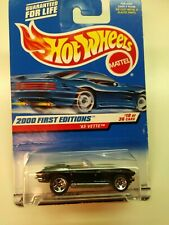 Hot Wheels 1965 Corvette 2000 First Editions #19 of 36 W