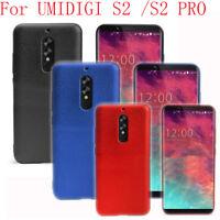 For UMI UMIDIGI S2/S2 Pro Case Slim TPU Silicone Phone Cover Soft Shockproof