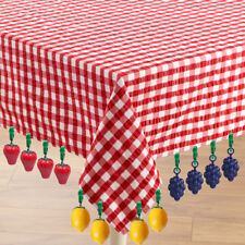 NEW WEIGHTS SET OF 12 TABLECLOTH CLIP WEDDING PICNIC GARDEN BBQ DINING BN