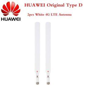 HUAWEI Original B315 B310 B525 SMA D-type White 4G LTE External 2x 12dBi Antenna