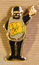 Play Ball California Lottery Hat Lapel Pin Button Brooch Badge Pinback