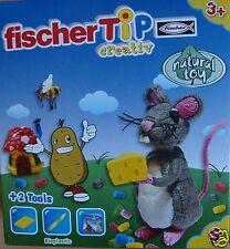 Fischer tip Box S Maus mit Käse aus Kartoffelstärke und Lebensmittelfarbe