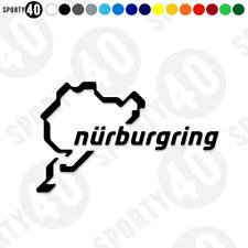 Nurburgring - Vinyl Decals / Stickers - Nurburgring Race Track - 3524-0119