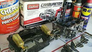 Rebuild service for Edelbrock AFB Carburetor* Carter Weber 90day warranty*