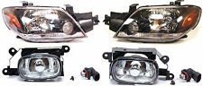 MITSUBISHI OUTLANDER 2003-2005 Front Head lamps Headlights +  foglights one