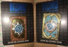 (2) Blizzard Hearthstone Fireside Gathering pins 2016 2017 - BLIZZCON - CUPCAKE