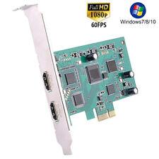 PCI-E 4K HDMI Video Capture Card 1080P HD Recorder For OBS Studio Live Streaming
