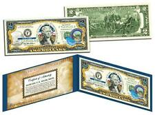 NEVADA Statehood $2 Two-Dollar Colorized US Bill NV State *Genuine Legal Tender*