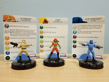 MARVEL HEROCLIX: Lyra, AIM Renegade & AI Marine: Cards Included