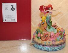 Jim Shore Disney Little Mermaid Ariel Under the Sea Musical - RARE