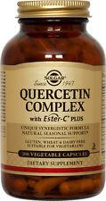 Solgar Quercetin Complex with Ester-C Plus 100 Vegetable Capsules