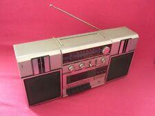 SANYO M 9813 L STEREO CASSETTE RECORDER-BOOMBOX-GHETTOBLASTER